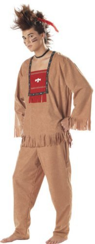 Adult Running Bull Indian Costume (X-Large 44-46)