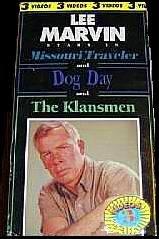 Lee Marvin Three Video Box Set: The Klansmen, Dog Day, The Missouri Traveler