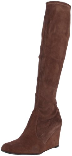 Stuart Weitzman Women's Fitsall Knee High Boot,Funghi Suede,6.5 M US