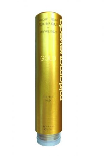 "Miriam Quevedo (Miriamquevedo) Mediterraneum Sublime Gold ""The Gold Mask"" Hair Conditioning With Micronized 24Kt Gold,Caviar,Imperial Orchid,Bio Argan Oil By Miriam Quevedo , 8.5 Fl Oz Made In Spain."