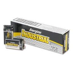 Piles Alcalines industrielle, 9 V, 12/Boîte Energizer