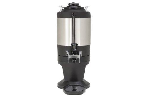 Wilbur Curtis Thermal Dispenser 1.5 Gallon Dispenser, S.S. Body S.S. Liner W/ Stylized Base - Coffee Dispenser - TXSG1501S600 (Each)