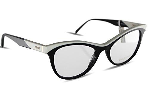 emilio-pucci-montura-de-gafas-para-mujer-multicolor-negro-blanco