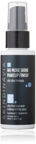 Skindinavia No More Shine Makeup Finish, 2 Ounce