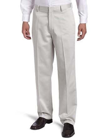 Dockers Men's Never-Iron Essential Khaki Classic Flat Front Pant,Stone,29X30