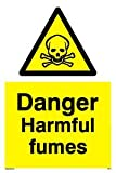 Danger Harmful fumes - Warning Sign
