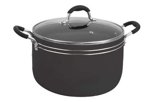 Vinaroz Verona Series 8 Quart Daikin Non Stick Aluminum Dutch Oven With Tempered Glass Lid Black Ratings And Reviews