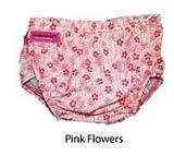 Konfidence Aqua nappies (Pink Flower)