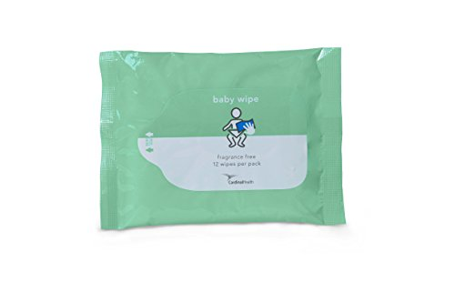 Cardinal Health 2BWSU-12 Baby Wipes Fragrance Free, 12 CT (48 Packs)