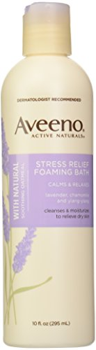Aveeno Stress Relf Foam Bath 10 Oz