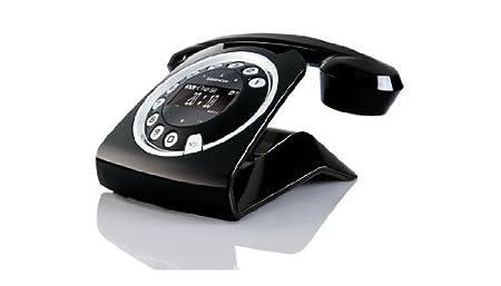 T�l�phone fixe SAGEM SIXTY NOIR SOLO AVEC REPONDEUR