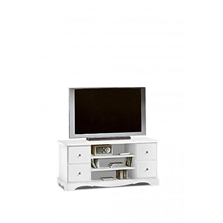 PORTA TV IN LEGNO COLORE BIANCO OPACO