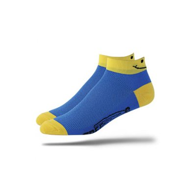 Buy Low Price DeFeet Speede Smiley Cycling/Running Socks – SPDSMI (B000JWN1QY)