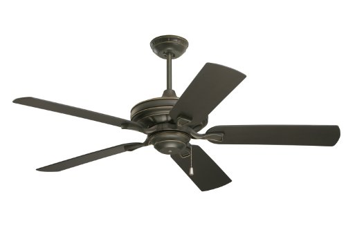 Emerson Ceiling Fans CF552GES Veranda 52-Inch Indoor Outdoor Ceiling Fan, Wet Rated, Light Kit Adaptable, Golden Espresso Finish (Wet Ceiling Fan compare prices)