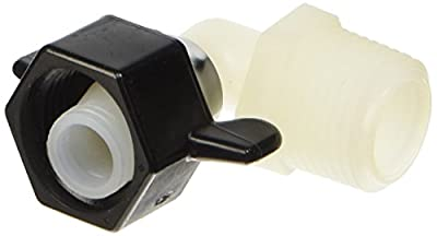 "SHURflo 244-3366 1/2"" FPT X 1/2"" MPT Elbow Swivel"