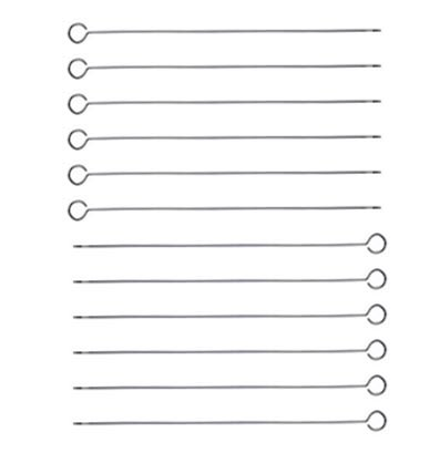 Why Should You Buy NEW, 12-Inch Long Stainless Steel Skewers, Barbecue Skewers, BBQ Skewers, Shish K...