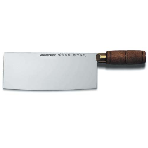 """Dexter Russell S5198Pcp Chinese Chefs Knife - 8""""Wx3-1/4""""D Blade"""