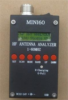 Great Deal! ZJchao(TM) Mini HF ANT SWR Antenna Analyzer SARK100 For Ham Radio Hobbists 1 - 60 Mhz