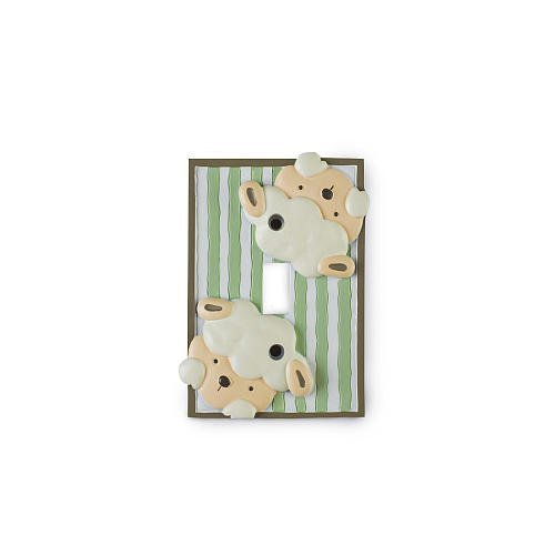 Little Boutique Sheep Decorative switch plate cover - 1