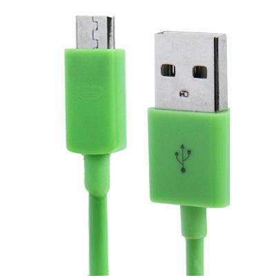 1 x Samsung Galaxy S3 Datenkabel / Ladekabel / S 3 / S3 Mini - Micro USB / Premium Kabel in grün - 1 Meter - von THESMARTGUARD
