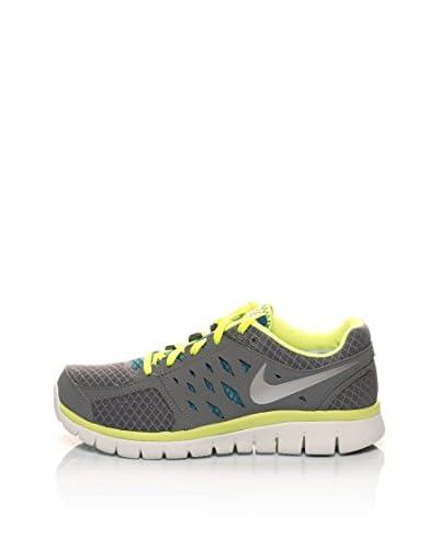 Nike Sneaker Flex 2013 Rn Msl [Grigio/Lime/Petrolio]