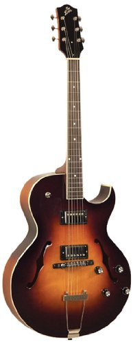 The Loar Lh-280-Csn Archtop Cutaway Electric Guitar - Sunburst