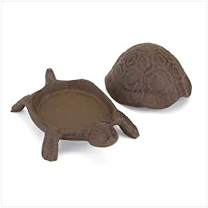 Turtle Spare Key Hider Keyholder Holder Yard Figurine