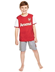 Arsenal Football Club Pyjama Shorts Set
