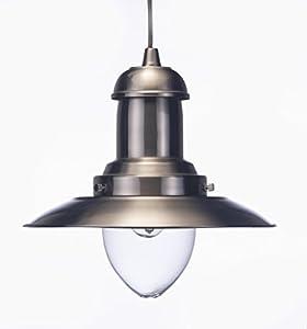 Marco Tielle Fisherman Ceiling Lantern Light in Antique Brass