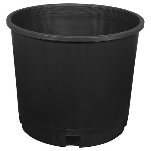 Gro Pro Injection Molded Nursery Pot 5 Gallon, 5-Pack (Plant Pots Outdoor compare prices)
