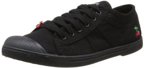Le Temps des Cerises - Sneaker, Donna, Nero (Noir (Mono Black)), 39