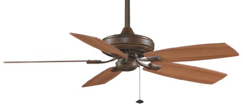 Fanimation TF610TS 52-Inch Edgewood Decorative 5-Blade Ceiling Fan, Tortoise Shell