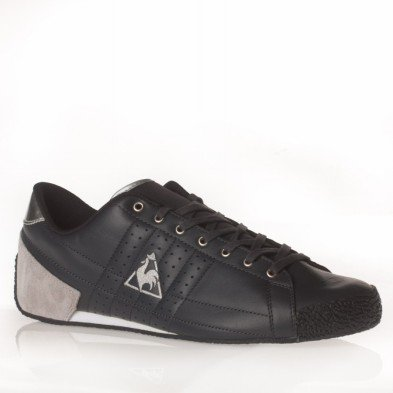 le coq sportif escrime leather 1021393 baskets mode homme taille 46 chaussures et. Black Bedroom Furniture Sets. Home Design Ideas