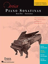 Faber Piano Adventures Piano Sonatinas Book 2 Intermediate - Faber Piano
