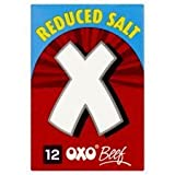 Oxo Reduced Salt Cube Beef 12 Pack 71g