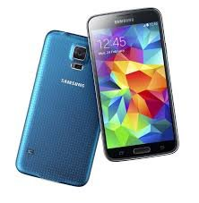 Samsung Galaxy S5 G900F 4G LTE 16GB Factory Unlocked GSM Quad-Core Android Smartphone - Electric Blue by Samsung
