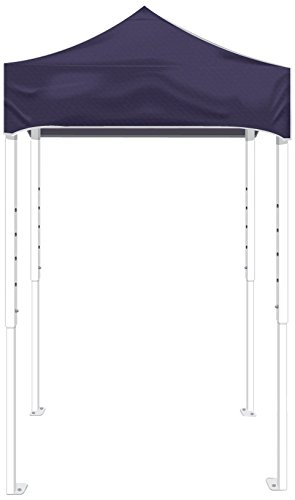 Kd Kanopy Ps25P Party Shade Steel Frame Indoor/Outdoor Portable Canopy, 5 By 5-Feet, Purple