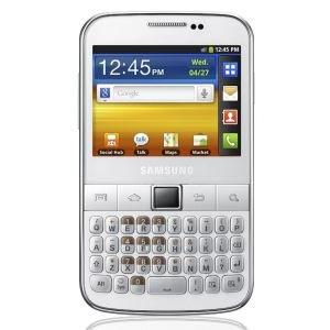 Samsung Galaxy Y Pro Smartphone Android 2.3 3G+ Bluetooth Wifi Blanc