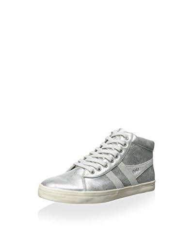 Gola Women's Lily Metallic Hightop Sneaker