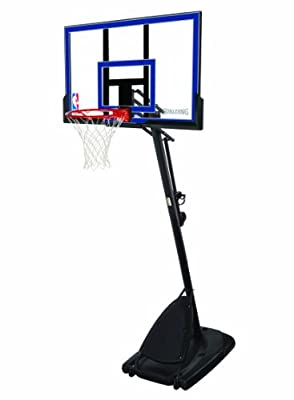 66355 Spalding Portable 50in Acrylic Basketball System