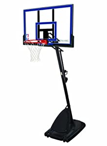 Buy Spalding Portable Basketball System - 50 Acrylic Backboard by Spalding