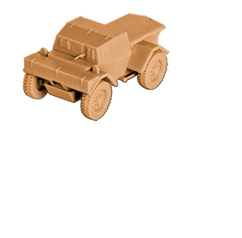 "Zvezda Models British Armored Scout Car ""Dingo"" Mk.I Model Kit (1/100 Scale)"
