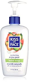 Kiss My Face Anjou Pear Liquid Moisture Soap 9-Ounce Pumps