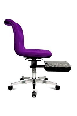 Topstar YO290W77 Bürodrehstuhl Yoga-Sitness 200 / Bezug lila