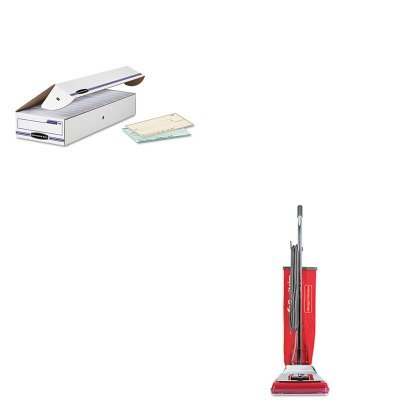 KITEUKSC888KFEL00706 - Value Kit - Sanitaire Sc888 Quick Kleen Fan Chamber Vacuum Vibra Groomer Ii (EUKSC888K) and Bankers Box Stor/File Storage Box (FEL00706) (Electrolux Fan compare prices)