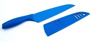 Hampton Forge Tomodachi Chef Knife, 8-Inch, Blue, HMC01A596A