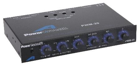 1/2 Din Four Band Equalizer With Headphones