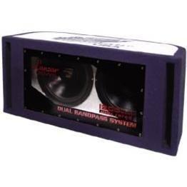 Lanzar HBP212 1200 Watt Dual 12-Inch Bandpass Subwoofer System from Sound Around