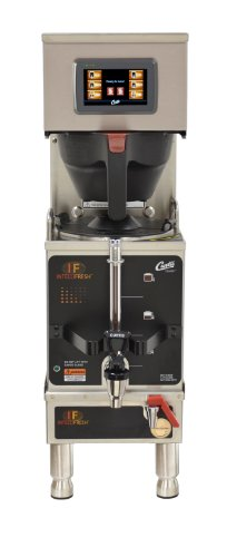 Wilbur Curtis G4 Gemini Single Coffee Brewer, 1.5 Gal. w/IntelliFresh, Dual Voltage, Stainless Steel - Commercial Coffee Brewer with Digital Control Module and Self-Diagnostic System for Gourmet Results - G4GEMSIF63A1000 (Each)