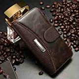 iphone 5 case, case for iphone 5, iphone 5 leather case, iphone 5 leather case 5s 5g luxury retro litchi crazy horse leather wallet flip cover case for i phone 5, 5s, 5g Iphone 5, 5s & 5g Leather Wallet Case (Brown) with free screen protector, Reviews